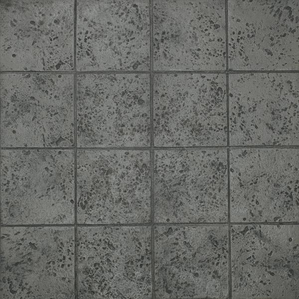 dark gray squares in stamped concrete keystone ardesia series