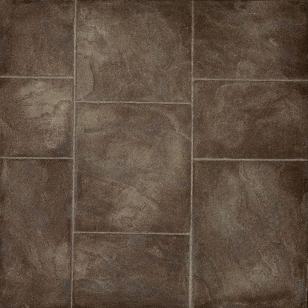 otter brown color in sidewalk slate design Patterned Concrete