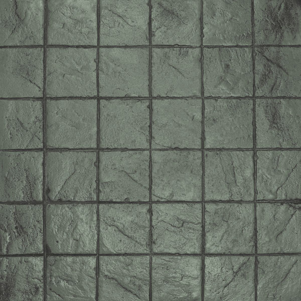 a mid-gray color of stacked bond in our ardesia series gives a real stone look in a grid format