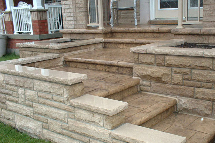 decorative concrete surfaces add to the curb appeal of your property