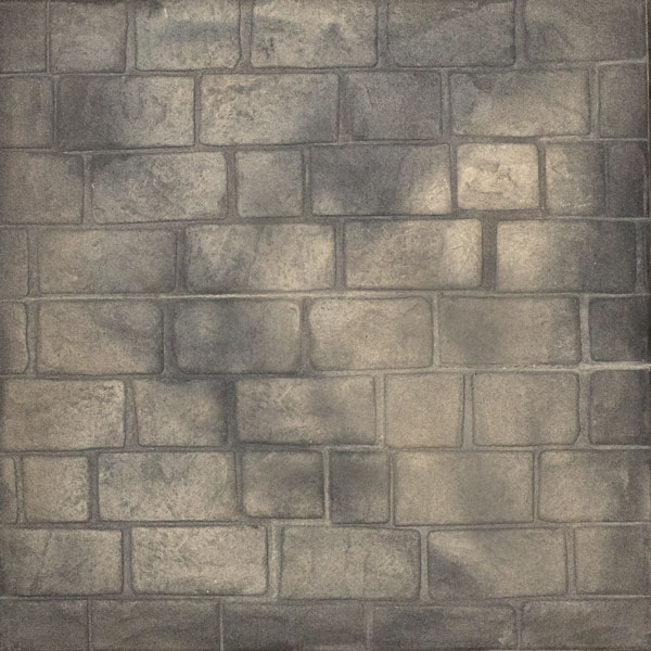 running bond cobblestone in mystic pearl shade - beautiful for driveways and walkways, and more