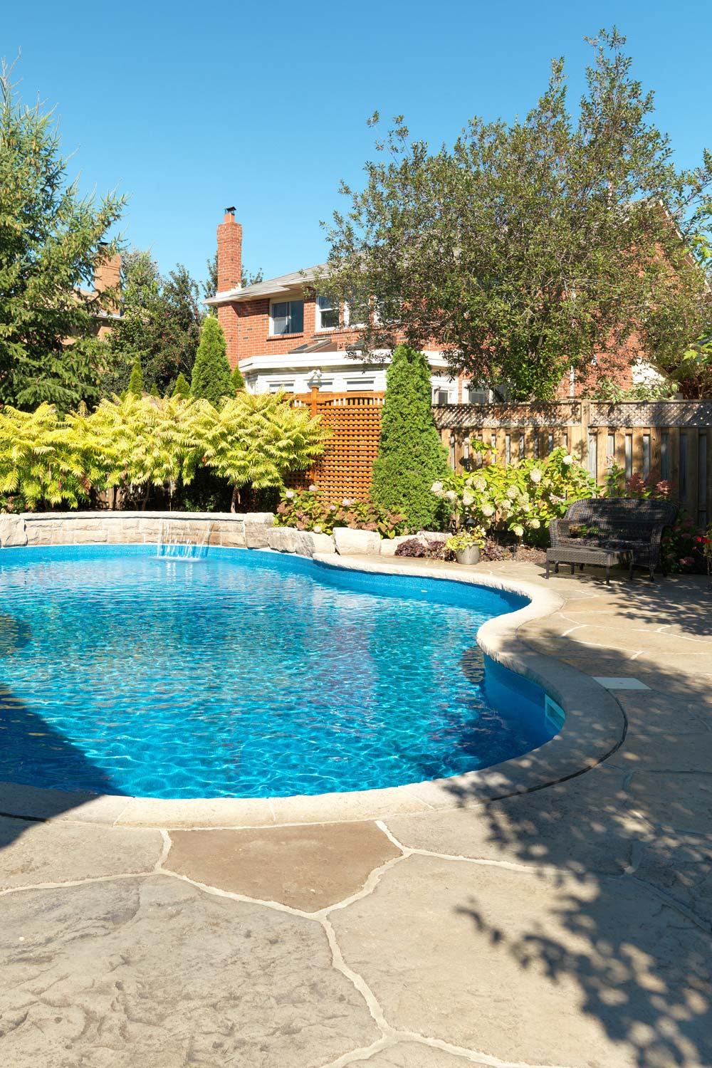 pool decks, patios and driveways are among the most common surfaces where stamped concrete is used