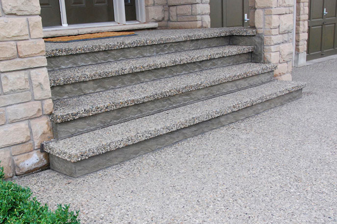 exposed pebble washed systems are another great alternative with decorative concrete