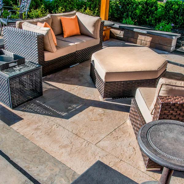 add the look of quarry cut rock to your outdoor space
