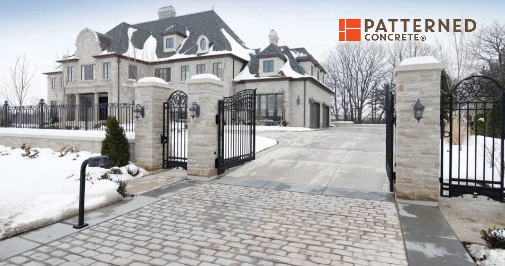 Fall and Winter Care For Your Stamped Concrete Patio