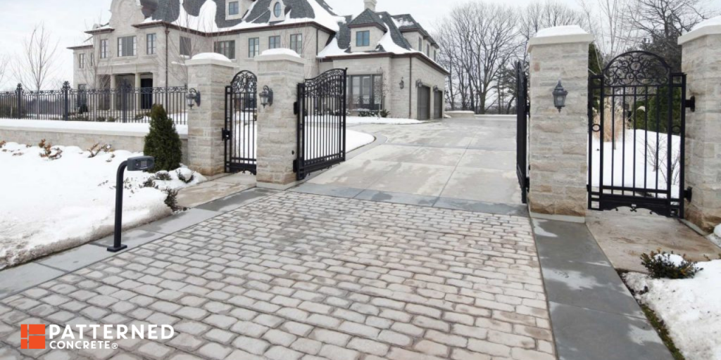 heated driveway systems save backbreaking work