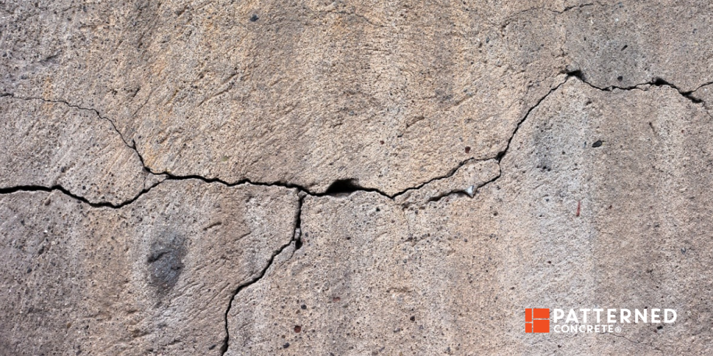what are some causes of cracks in concrete
